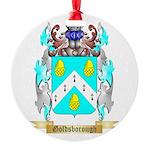 Goldsborough Round Ornament