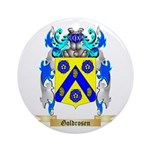 Goldrosen Ornament (Round)