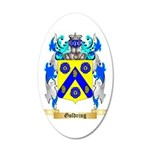 Goldring 35x21 Oval Wall Decal