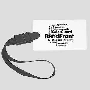 Bandfront Word Cloud Luggage Tag
