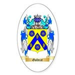 Goldrat Sticker (Oval)
