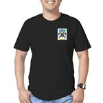 Goldner Men's Fitted T-Shirt (dark)