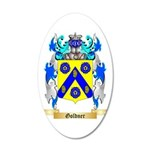 Goldner 35x21 Oval Wall Decal