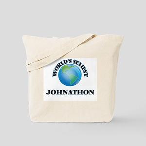 World's Sexiest Johnathon Tote Bag
