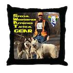 SWAT Gear Throw Pillow