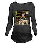 SWAT Gear Long Sleeve Maternity T-Shirt