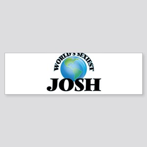 World's Sexiest Josh Bumper Sticker