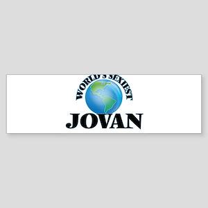 World's Sexiest Jovan Bumper Sticker