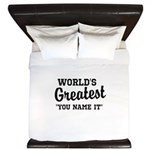 Worlds Greatest King Duvet