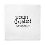 Worlds Greatest Queen Duvet
