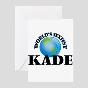World's Sexiest Kade Greeting Cards