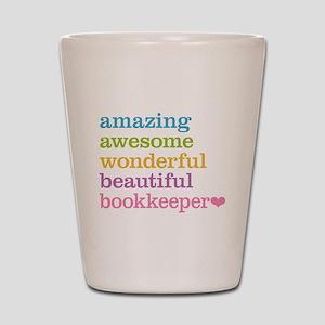 Bookkeeper Shot Glass