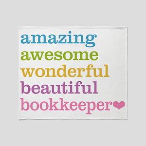 Bookkeeper Throw Blanket