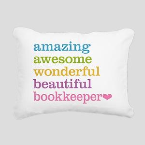 Bookkeeper Rectangular Canvas Pillow