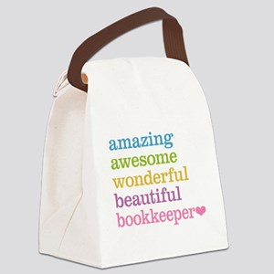 Bookkeeper Canvas Lunch Bag