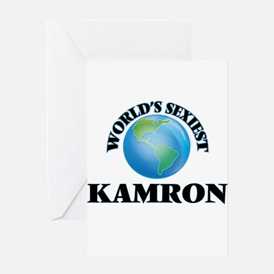 World's Sexiest Kamron Greeting Cards