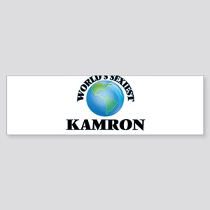 World's Sexiest Kamron Bumper Sticker