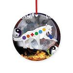 Wolf TAO Ornament (Round)
