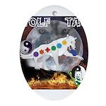 Wolf TAO Ornament (Oval)