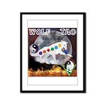 Wolf TAO Framed Panel Print