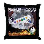 Wolf TAO Throw Pillow