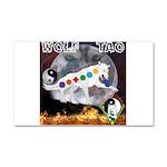 Wolf TAO Car Magnet 20 x 12