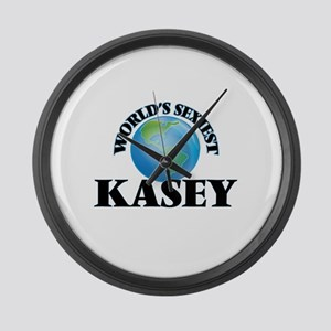 World's Sexiest Kasey Large Wall Clock