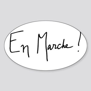 En Marche! Logo Sticker (Oval)