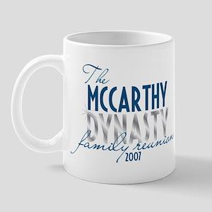 MCCARTHY dynasty Mug