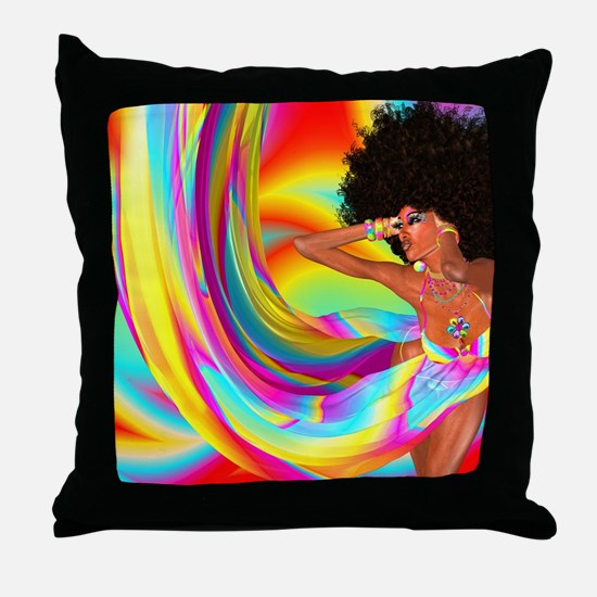 Cute Ethnic Throw Pillow