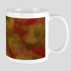 Soft Earthtone Brush Strokes Mugs