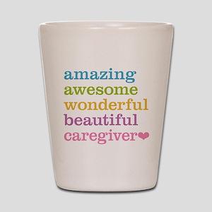 Amazing Caregiver Shot Glass