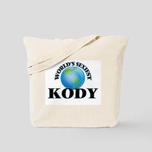 World's Sexiest Kody Tote Bag
