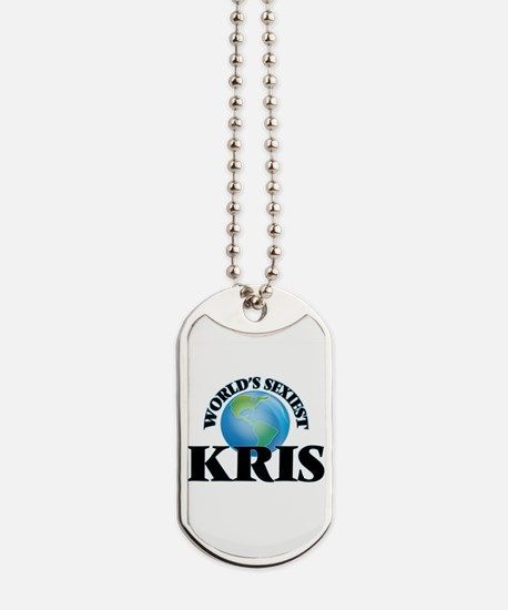 World's Sexiest Kris Dog Tags
