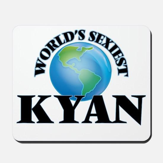 World's Sexiest Kyan Mousepad