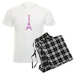 Purple Eiffel Tower Pajamas