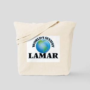 World's Sexiest Lamar Tote Bag