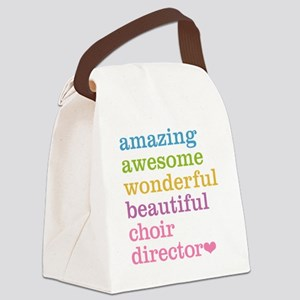 Choir Director Canvas Lunch Bag