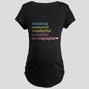 Choreographer Maternity T-Shirt