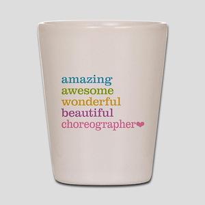 Choreographer Shot Glass