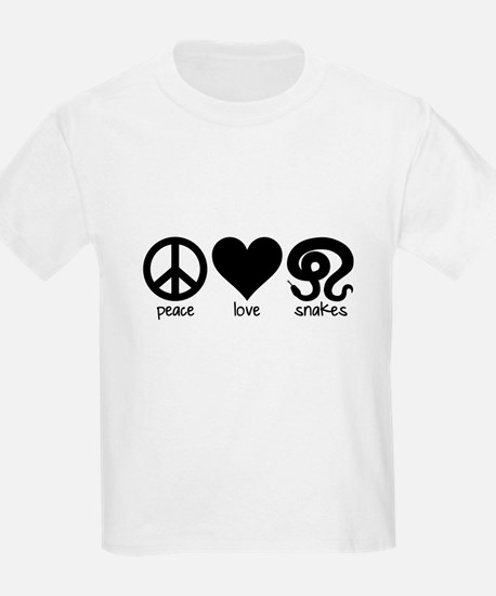 Peace Love And Snakes T-Shirt