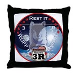 WooFDriver Route 3R Throw Pillow