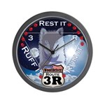 WooFDriver Route 3R Wall Clock