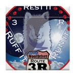 WooFDriver Route 3R Tile Coaster