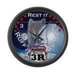 WooFDriver Route 3R Large Wall Clock