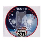 WooFDriver Route 3R Throw Blanket