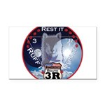 WooFDriver Route 3R Rectangle Car Magnet