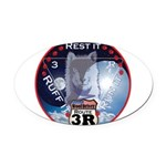 WooFDriver Route 3R Oval Car Magnet