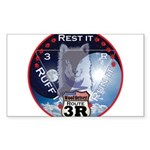 WooFDriver Route 3R Sticker