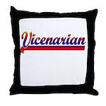 Vicenarian Throw Pillow